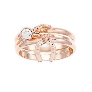 2/$15 LC Horseshoe Ring Set